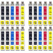 20 Cartucce Di Inchiostro Per Epson Stylus D92 DX5000 DX7450 BX300F SX100 SX218 SX610FW