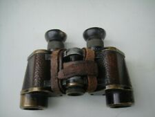 Antique VINTAGE Carl Zeiss Jena D.F. 6x German Binoculars SN 513349