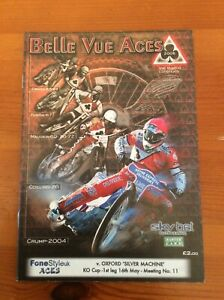 2005 BELLE VUE v OXFORD 16th MAY          (GOOD CONDITION)