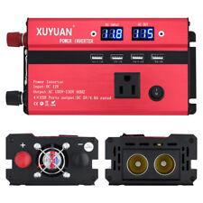300/3000/5000W Power Inverter 12/24V To 110V/220V Modified Sine Wave Converter A