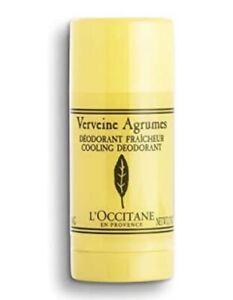 L'OCCITANE Verveine Agrumes Cooling Deodorant 50g/1.7 oz NEW, FREE SHIPPING