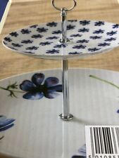 Price And Kensington 2 Tier Cake Stand Unused Lovely Floral Design