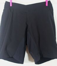 ENDURA S Trekkit Touring BIKE Cycling Stretch SHORTS Black Womens Pockets