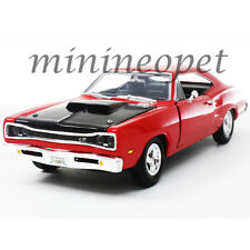 MOTORMAX 73315 1969 69 DODGE CORONET SUPER BEE 1/24 DIECAST MODEL CAR RED