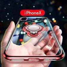 FUNDA PARA IPHONE XS MAX XR 8 7 6S PLUS TPU SILICONA ANILLO DE SOPORTE CARCASA