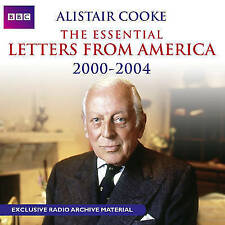 Alistair Cooke The Essential Letters from America 2000-2004 CD Audio Book NEW