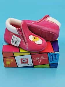 Schuhe Hausschuhe Kindergarten Kinder Baby Mädchen Gr. 21 - 29 tierische Motive