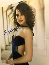Daisy Ridley signed 8 x10 photo sexy picture