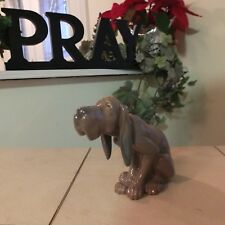 Lladro Timid Dog # 5111 Bloodhound Dog Mint Condition Fast Shipping!