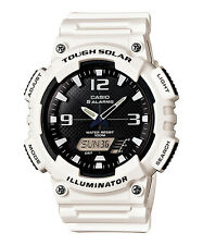 Casio AQ-S810WC-7A Original Digital Analog Mens Watch Tough Solar White AQ-S810