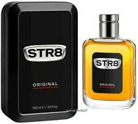 STR8 ORIGINAL Men's After Shave Lotion Glass Bottle in Metal Tin 100ml 3.4oz NEW