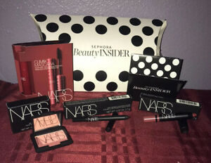 Nars Sephora Beauty Insider 4 PC Set~Mascara~Lip~Blush~Eyeliner~New