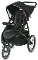 Graco Baby FastAction Jogger LX One-Hand Fold Reclining Seat Stroller Tansy NEW