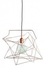 House Doctor - Lampenschirm Hängeleuchte ASYMMETRIC Glanzkupfer NEU Designlampe