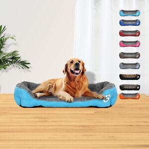 XXXL Washable Soft Pet Dog Cat Bed 113cmx86cm Luxury Large Warm Kennel Blanket