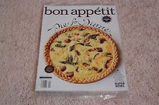 WINTER SURVIVAL ISSUE February 2015 BON APPETIT MAGAZINE NEW PARTIALLY SEALED