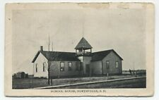 SD ~ Rural School House NORTHVILLE South Dakota 1914 Spink Co Postcard Elk Point