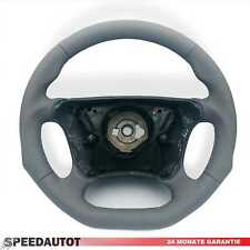 Submerge Leather Steering Wheel Grey New Cover Mercedes W210 E-Class Facelift