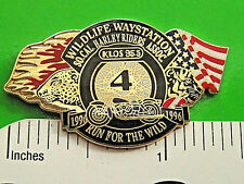 HARLEY DAVIDSON Run for the Wild So. Ca  Hat pin , lapel pin , tie tac GIFT BOXD