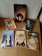 6 livres de Amélie NOTHOMB