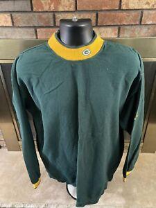 Vintage Green Bay Packers NFL Football Turtleneck Sweatshirt Mens Size XL VTG