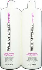 Paul Mitchell Super Strong Shampoo and Conditioner Liter Duo 33.8oz Each New