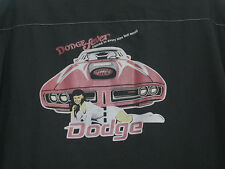 BC ETHIC Dodge Fever Challanger Charger Classic Work Shirt Vintage Men's size M