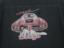 BC ETHIC Dodge Fever Challanger Charger Classic Work Shirt Vintage Men's size M