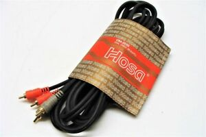 HOSA CRA-203G RCA Dual Cable 3M Gold-Plated 9.9ft