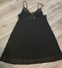 Victoria Secret Black Lace Nightgown Large *NWT*