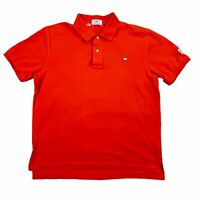 Southern Tide Mens Clemson Tigers Logo Cotton Collared Polo Shirt Orange XL