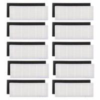 20 teile / los HEPA filter & Schwamm Filter ersatz fuer ilife A4s A6 A4 A40 j1n