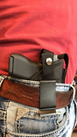ULTIMATE CONCEALED CARRY GUN HOLSTER WITH MAGAZINE POUCH FOR GLOCK 42
