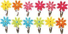 Haarspangen Filzblumen 6 Sets Filz Blumen Haarklammern Haarschmuck Bunt Neu