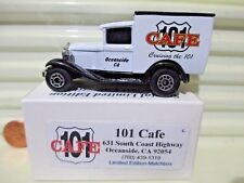 Matchbox MB38 2005 OCEANSIDE CA 101 CAFE Dark Windows Model A Ford Van Nu Boxed