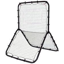 New Youth Baseball Softball Rebounder Pitching Back Ball Strike Zone Net Trainer