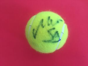 Monica Seles HOF U.S. Open Wilson Tennis Ball Signed Auto