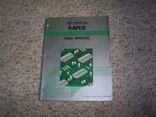1992 Toyota MR2 Electrical Wiring Diagram Manual Turbo 2.0L 2.2L 4Cyl