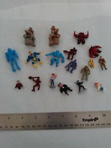 Vintage Tiny Toy Figures, Various Charactors