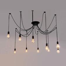 DIY Chandelier Lamp Holder E27 Ceiling Pendant Lamp Spider Light Fitting Decor 10 Heads