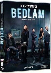 I Fantasmi Di Bedlam - Stagione 2 - Cofanetto 2 Dvd  - Nuovo Sigillato