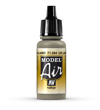 Vallejo Model Air: UK Light Mud - Acrylic Paint Bottle 17ml VAL71.284