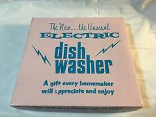 Rare 1972 Leister Game Co. Electric Washing Machine IOB
