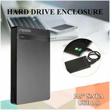 USB 3.0 1TB External Hard Drives Portable Desktop Mobile Hard Disk Case Black
