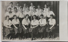 Original Vintage 1920s group of Czech female gymnasts, Sokol