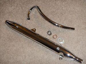 NEW Chrome Exhaust Header Pipe Muffler 1964-1967 HONDA TRAIL 90 CT200 CT 200 66