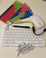 7 in 1 Wireless Bluetooth Keyboard Tastatur kabellos für Handy Tablet QWERTZ