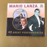 MARIO LANZA - 42 GREAT PERFORMANCES - 2CD - OTTIMO CD [AH-178]