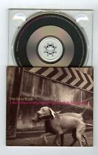 1 TRACK PROMO CD SINGLE PET SHOP BOYS I DON'T KNOW WHAT YOU WANT