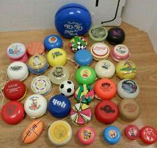 Lot of 34 Vintage Collectible Yo-Yo's Duncan & Others Coke Disney 102319DBT